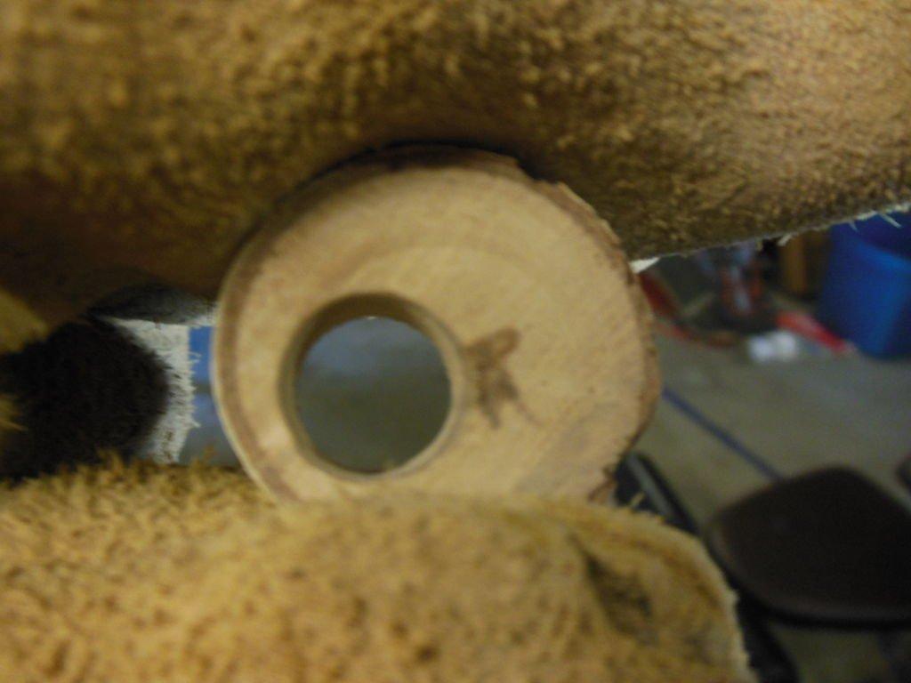 Деревянное кольцо своими руками
