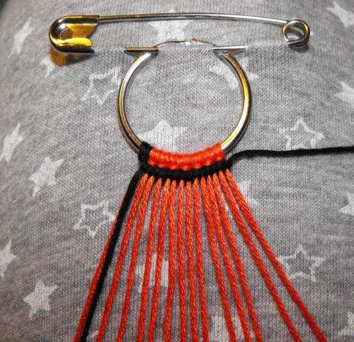 плетеный браслет своими руками руки крюки