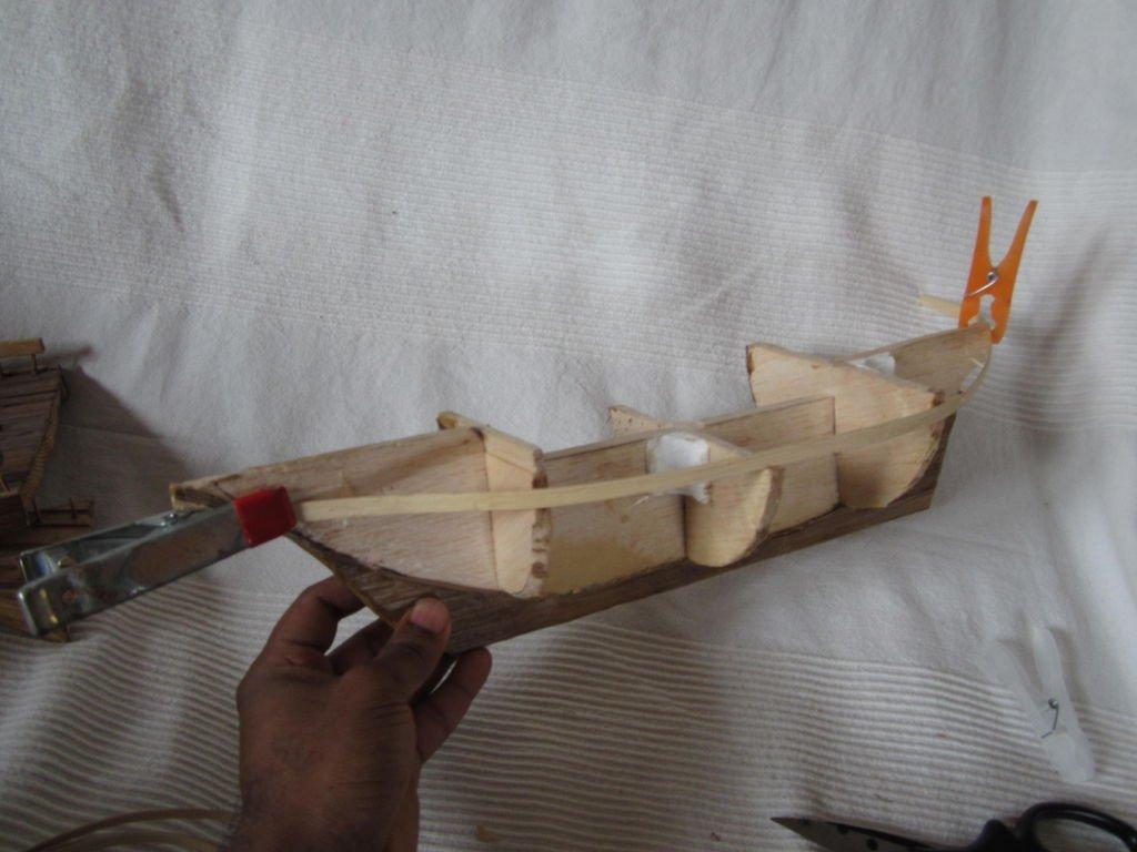 Корабль из фанеры своими руками фото 627