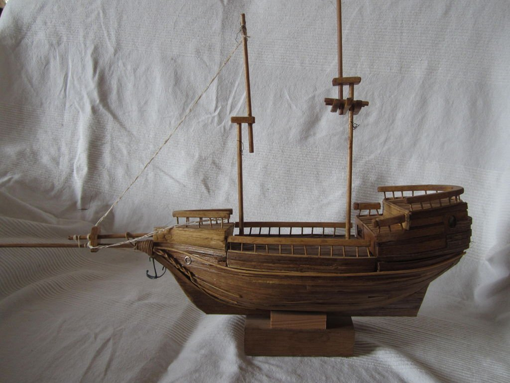 Корабль из фанеры своими руками фото 790