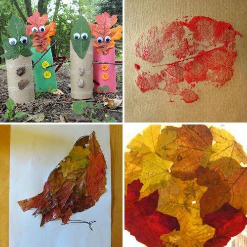 Осенние поделки своими руками для школы и детского сада из