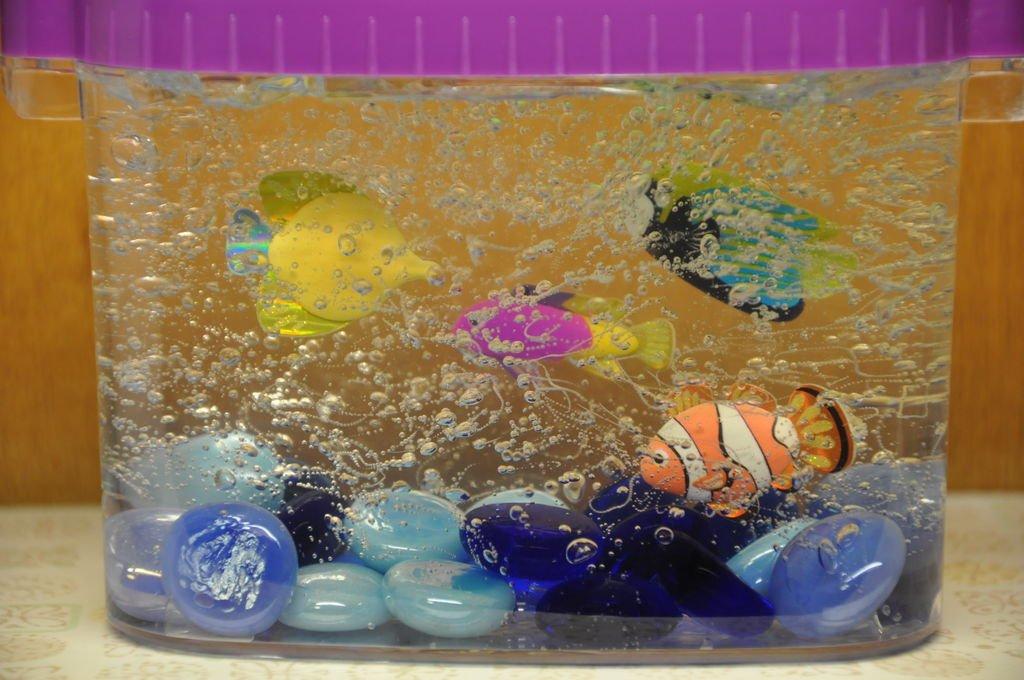 Поделка Аквариум с рыбками своими руками. Мастер-класс с 755