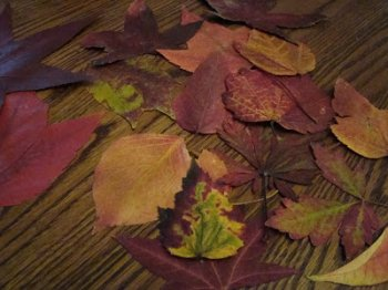 Осенняя рамка своими руками
