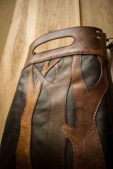 Кожаная сумка своими руками