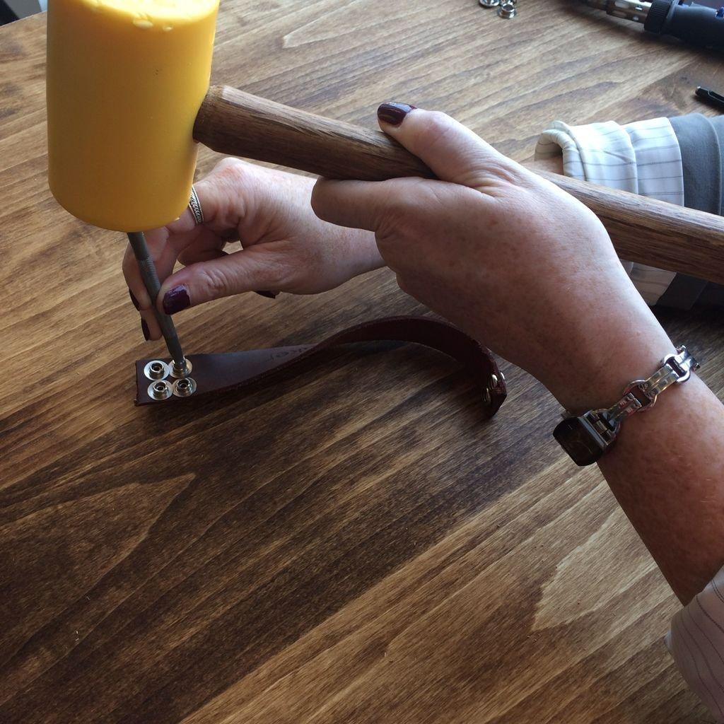 Кожаный браслет своими руками