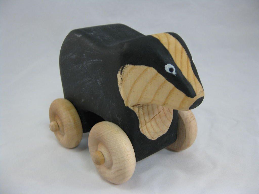 Деревянная игрушка барсук своими руками