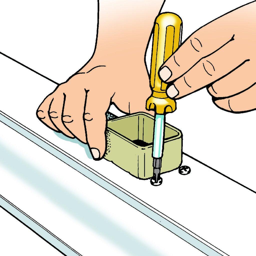 Как установить водосток на крыше дома