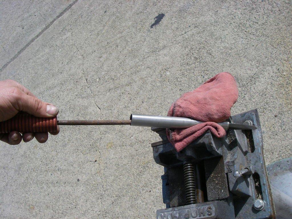 Нож из корзины сцепления