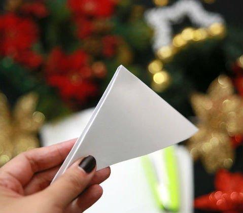 Три снежинки из бумаги своими руками