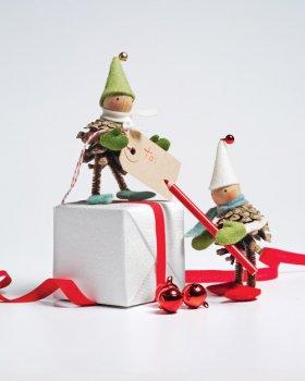 Новогодние игрушки на елку своими руками