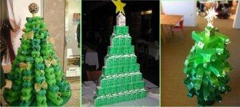 Идеи новогодних елок своими руками