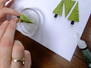 Елочная игрушка из полимерной глины