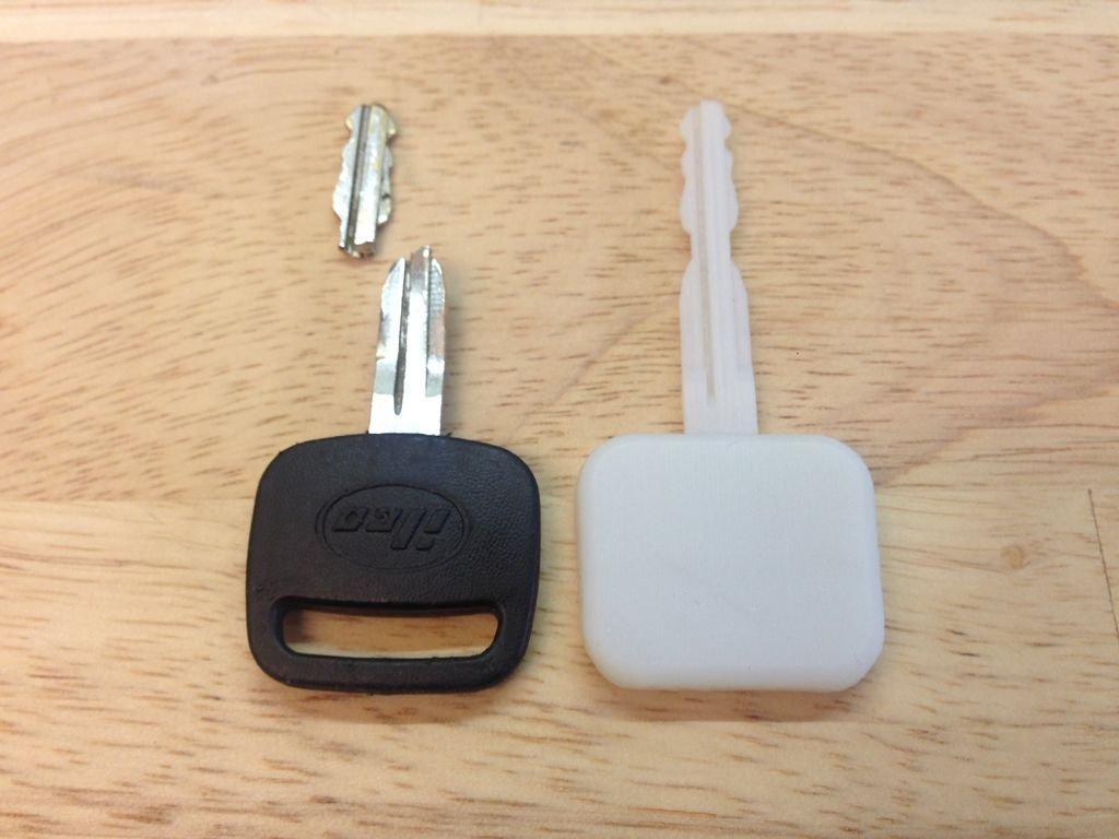 Как сделать дубликат ключа своими руками 75