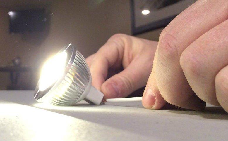 Светильник в индустриальном стиле своими руками