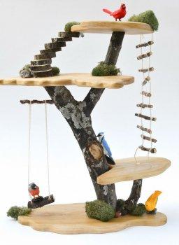 Декоративный дом на дереве своими руками