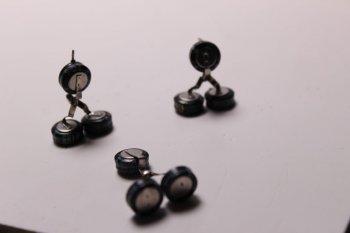Мини-роботы из электронных деталей своими руками