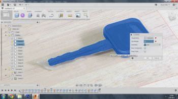 3D-копия автомобильного ключа своими руками