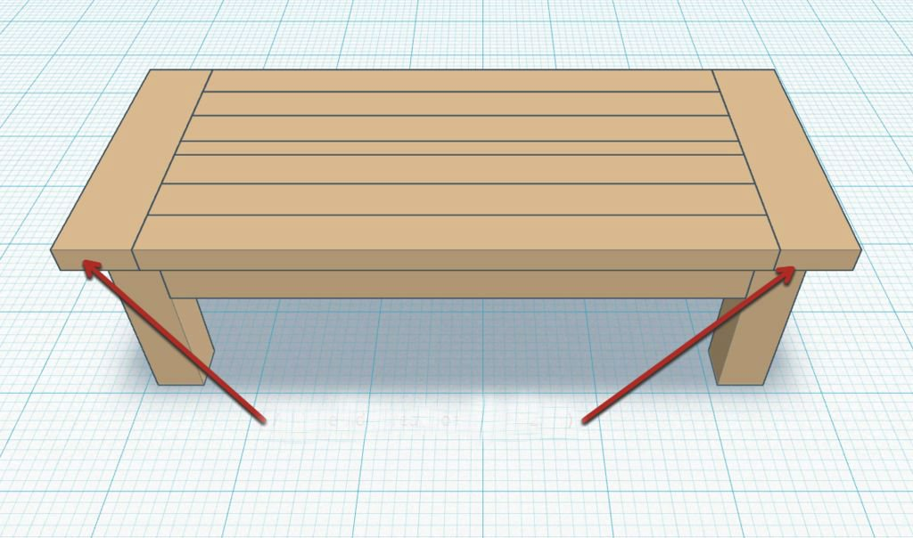 Журнальный столик в деревенском стиле своими руками