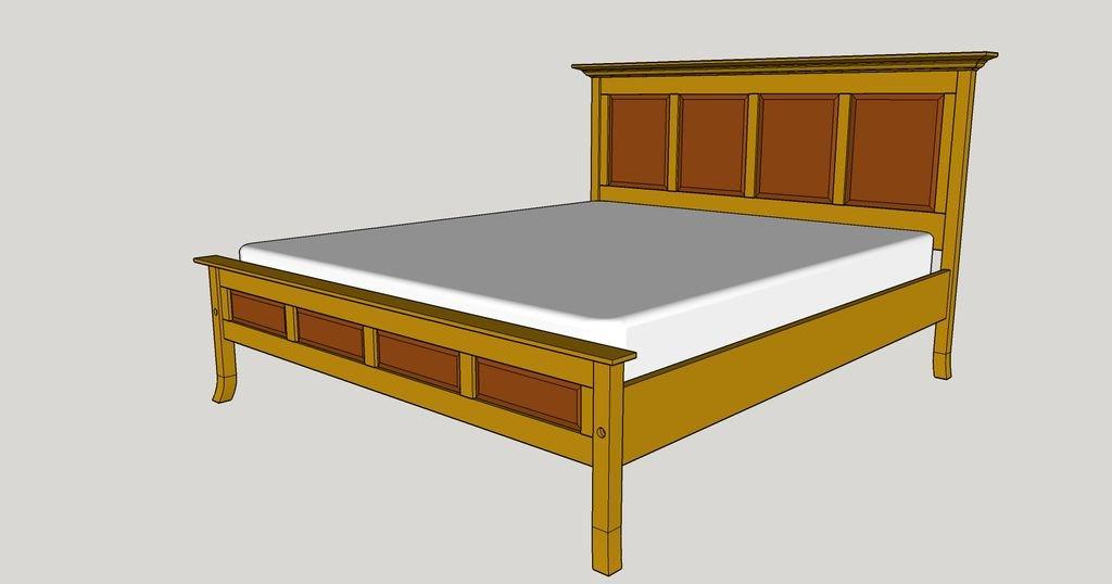 Кровать со светодиодной подсветкой своими руками