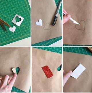 Упаковка подарка на День Святого Валентина своими руками. Два мастер-класса