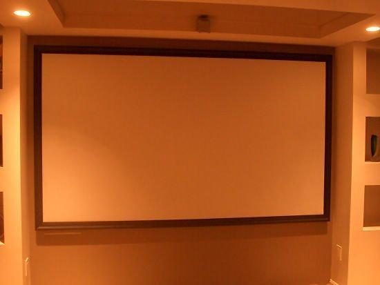 Как сделать экран для проектора своими руками 41