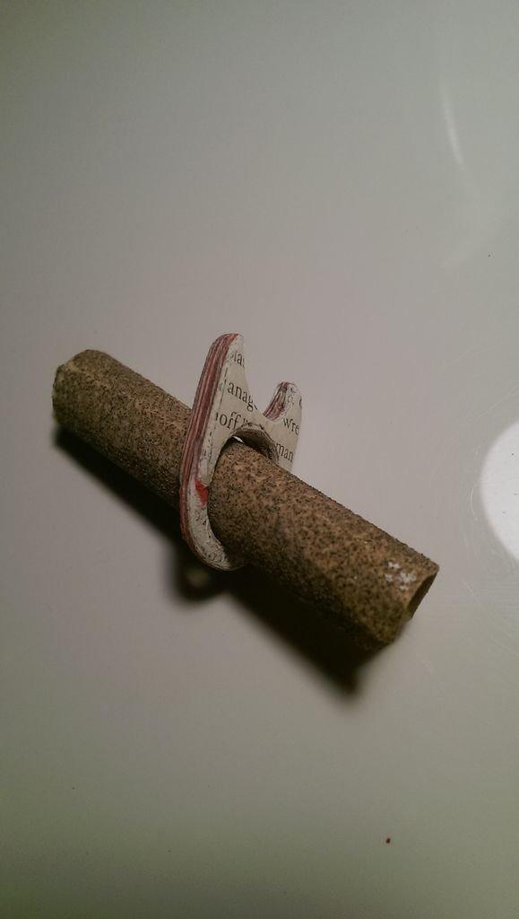 Бумажные кольца своими руками