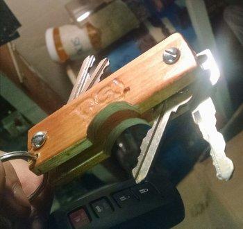 Деревянный органайзер для ключей своими руками