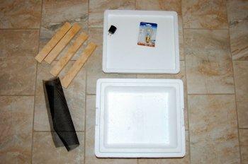 Мини-инкубатор для яиц своими руками