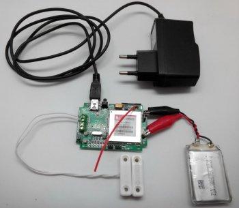 GSM сигнализация для гаража своими руками