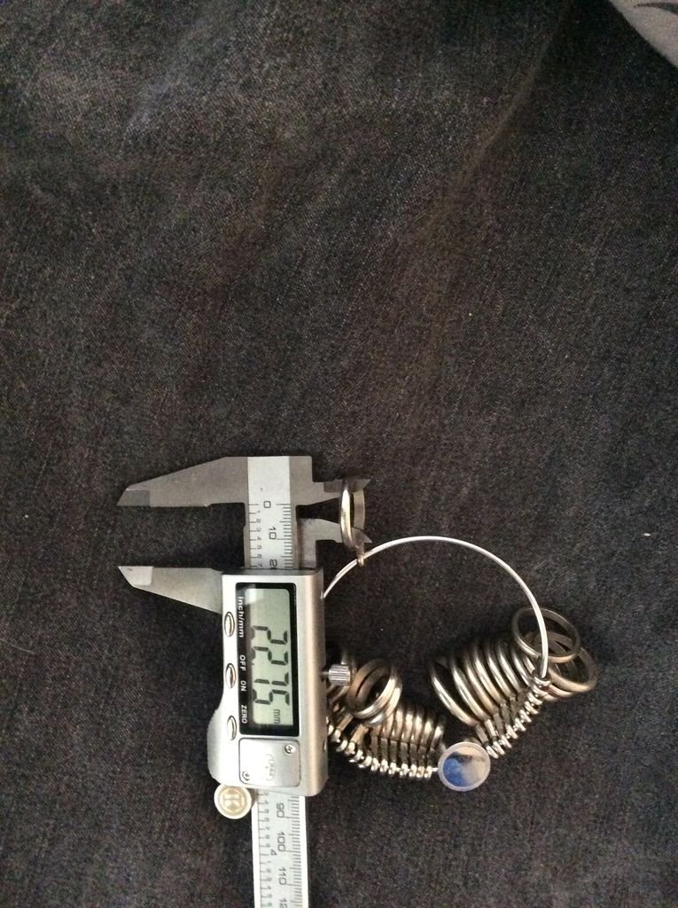 Кольцо из намытого металла своими руками