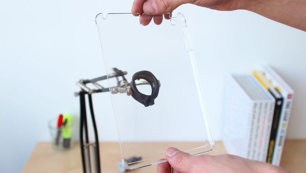 Регулируемая подставка для планшета своими руками