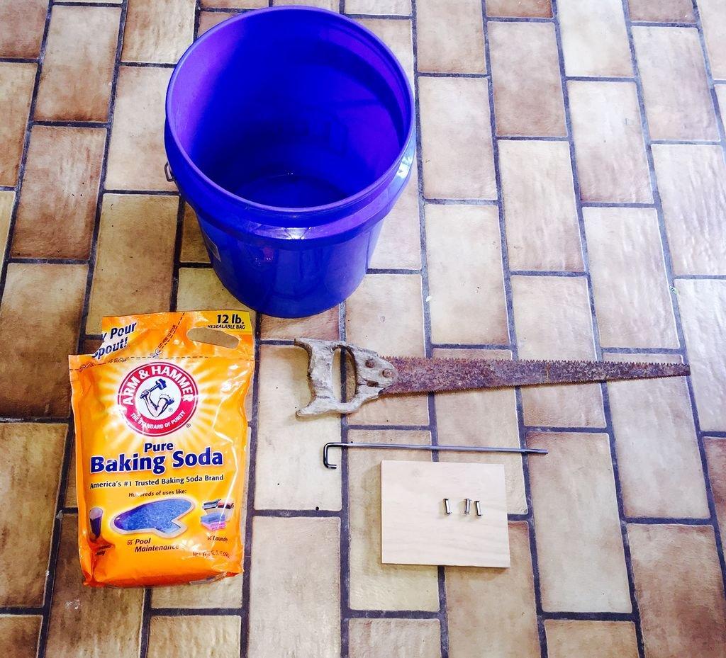 Как восстановить ржавую ручную пилу своими руками