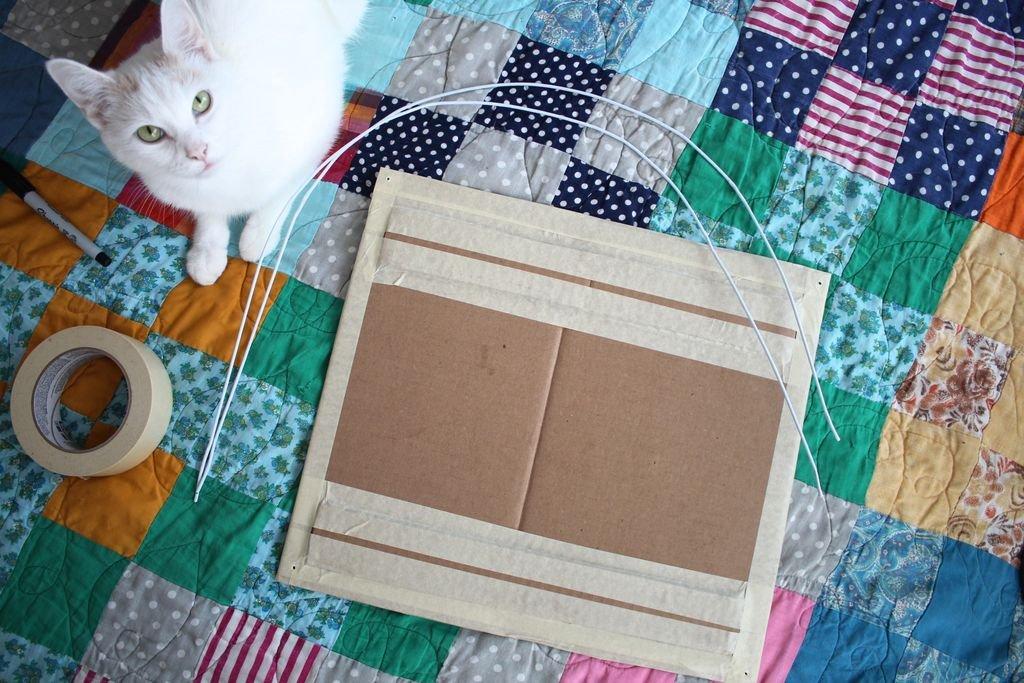 Палатка для кошки своими руками