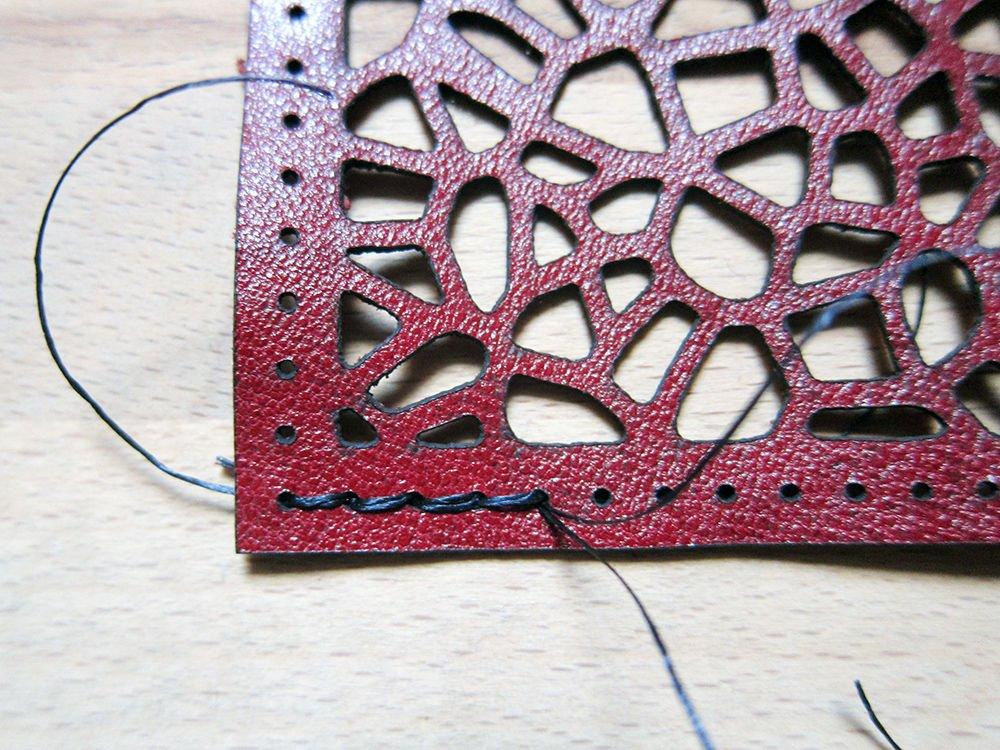 Кожаный чехол для фляжки своими руками