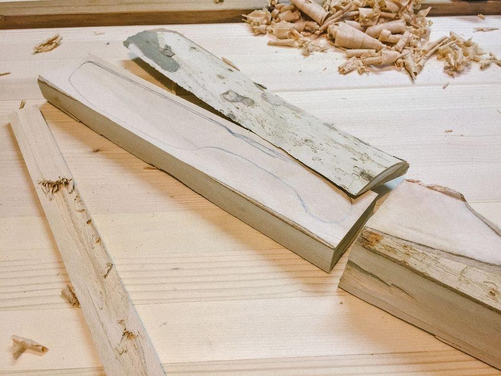 Деревянный нож своими руками