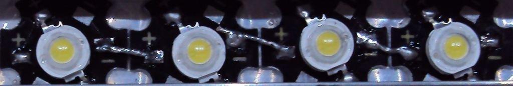 Светодиодные габаритки своими руками