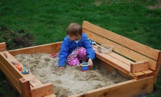 Песочница своими руками