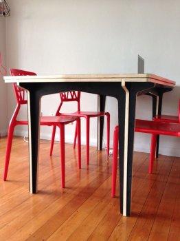 Обеденный стол своими руками