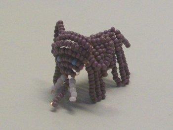 Слон из бисера своими руками