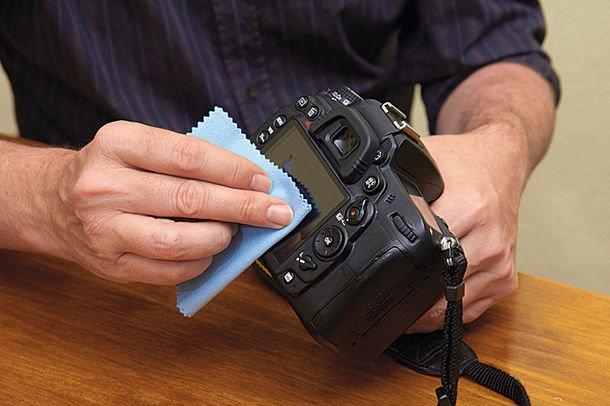 Советы по очистке объектива зеркального фотоаппарата