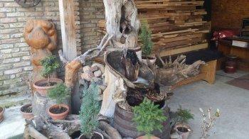 Мини-сад с декоративным водопадом своими руками
