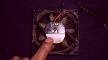 Как починить вентилятор блока питания без отвертки