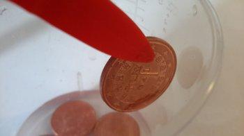 Как очистить медные монеты в домашних условиях