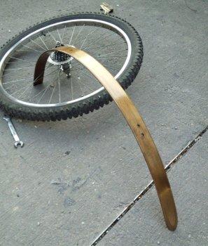 Делаем подкрылки для велосипеда своими руками