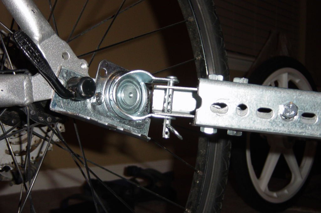 Прицеп для велосипеда своими руками
