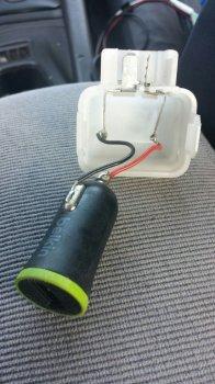 Зарядка для пасcажиров задних сидений своими руками