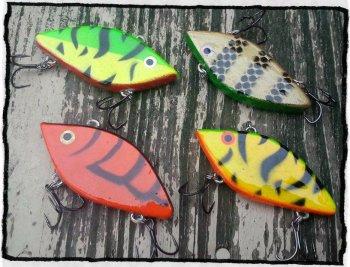 Рыболовные приманки своими руками