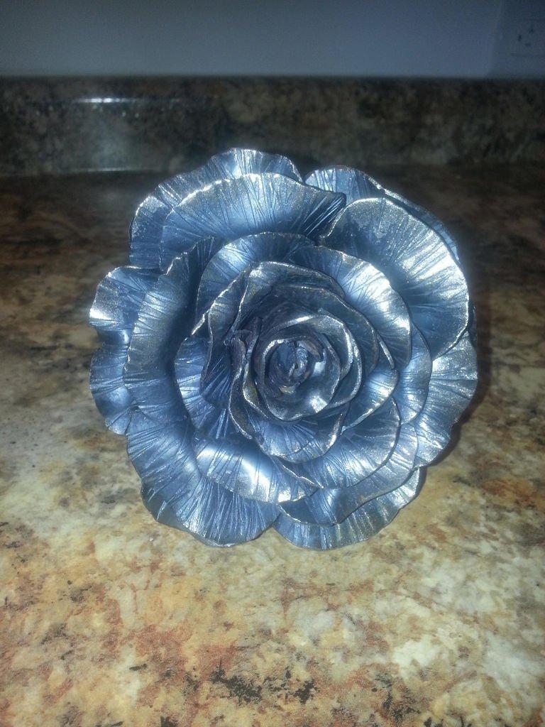 Цветы из металла своими руками фото фото 271