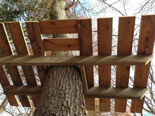 Терраса на дереве своими руками