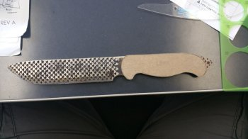 Нож из рашпиля своими руками